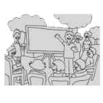 Assemblée générale illustration du club informatique de Saint Priest en Jarez